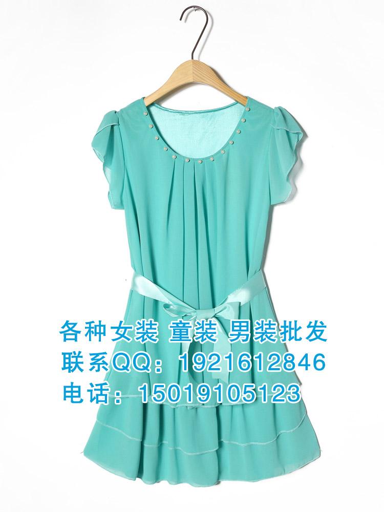 广东时尚夏季连衣裙批发