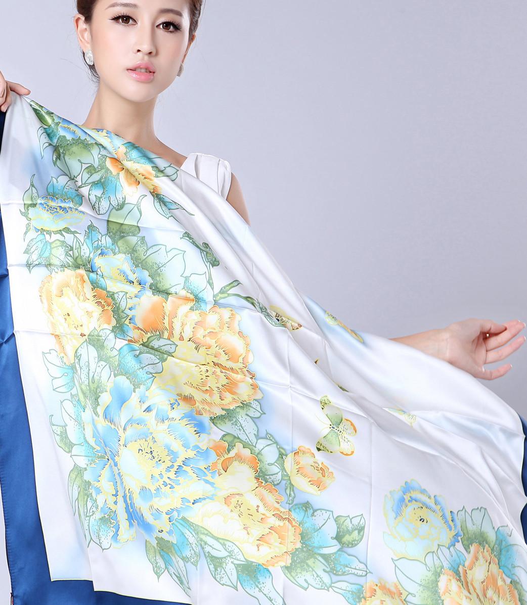 中国印象冬系羊毛丝巾批发