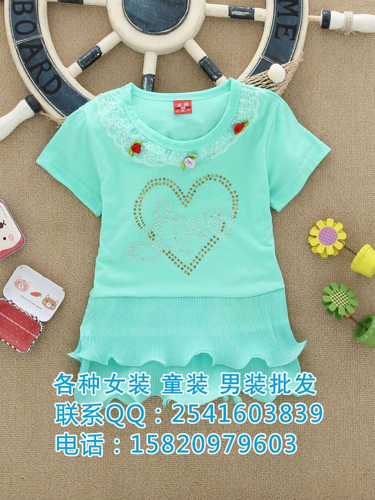 贵州夏季儿童服装批发