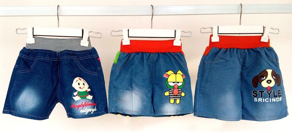 夏季童装糖果色短裤批发