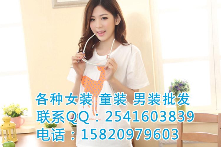 广东时尚女装夏装上衣批发