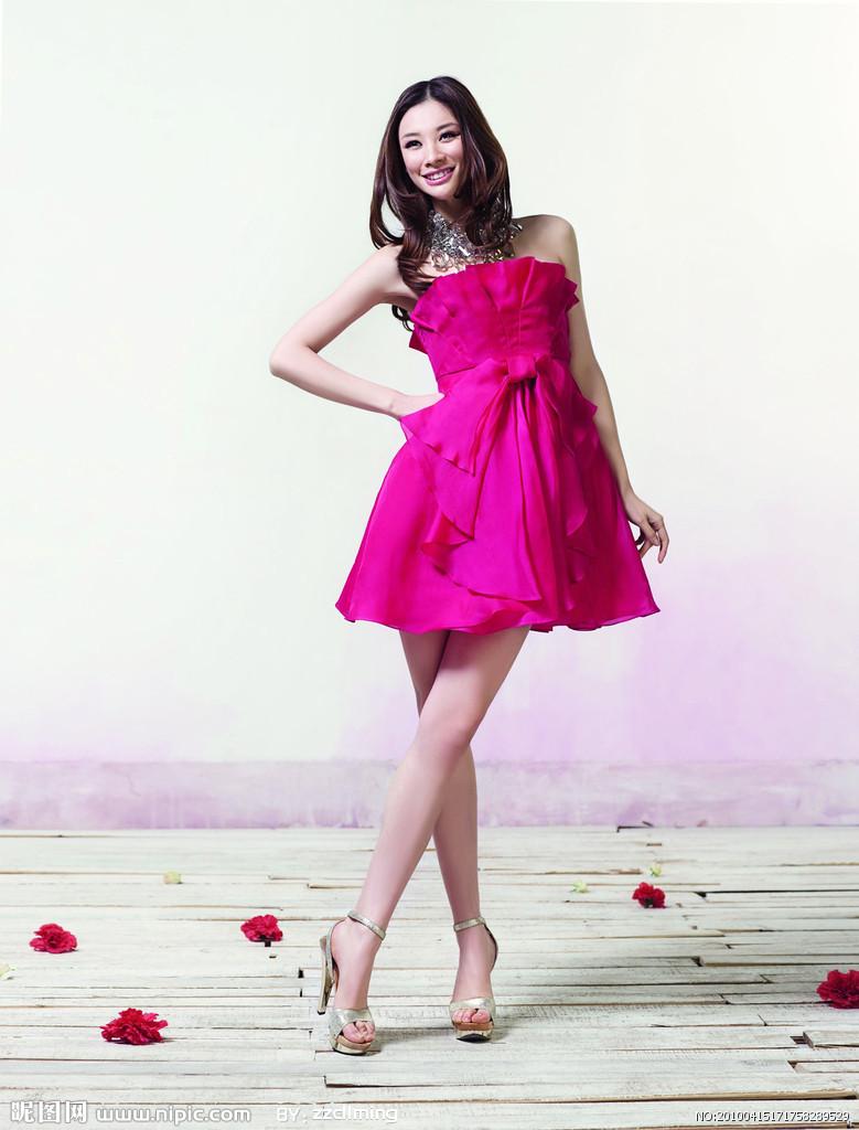 席占廷服装店专业提供最优质的名米沙裙子批发