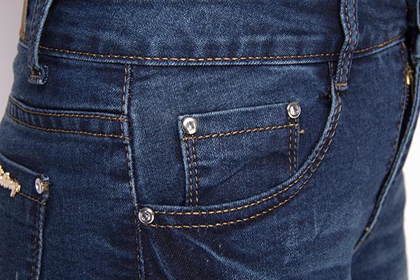 超时尚月之悦牛仔7分裤批发