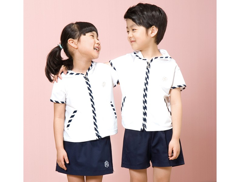 幼儿园夏装校服定做批发