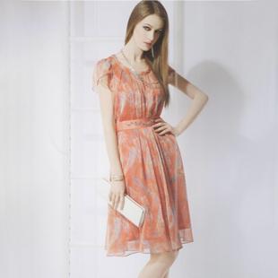 北京一线知名品牌赛瑞娜2014夏装库存折扣女装批发