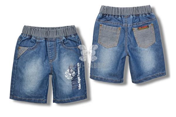 牛仔短裤童装短裤批发