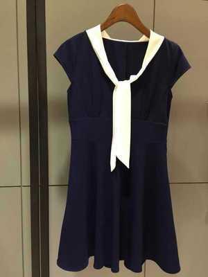 韩版流行短连衣裙批发