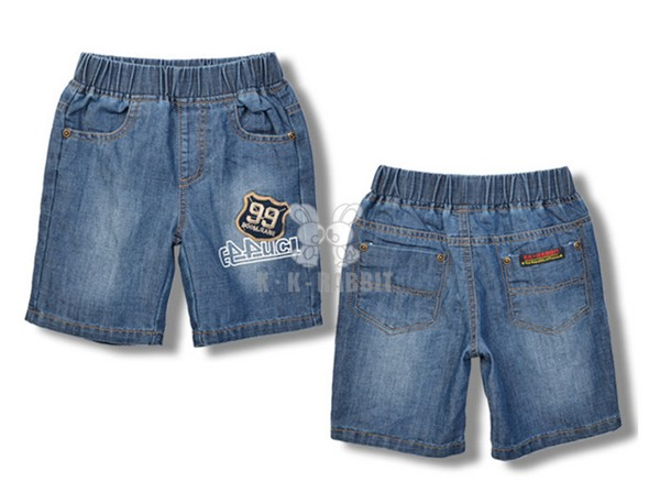 划算的儿童牛仔短裤供应