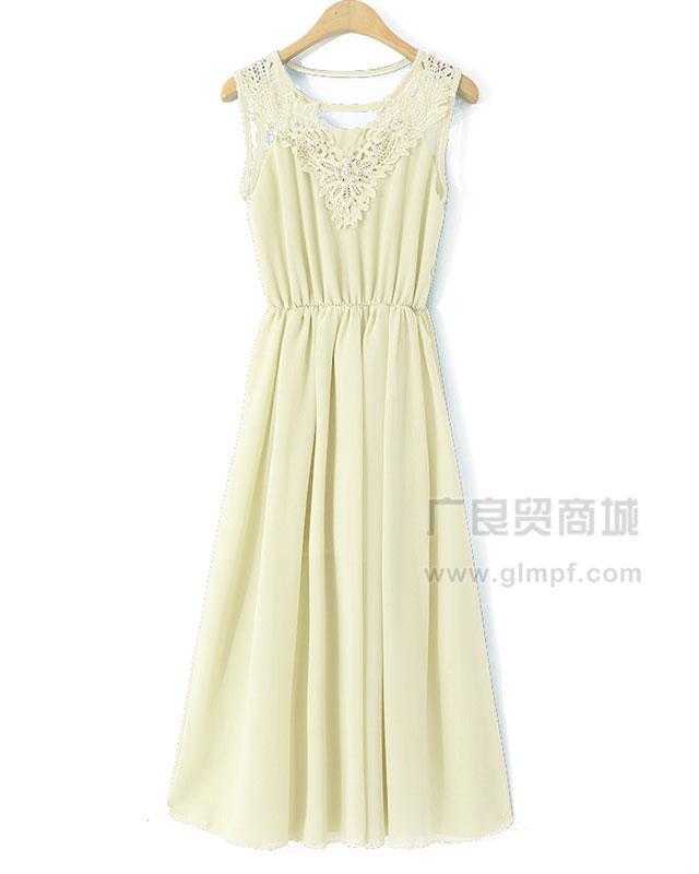 韩版淑女气质流行时尚连衣裙批发