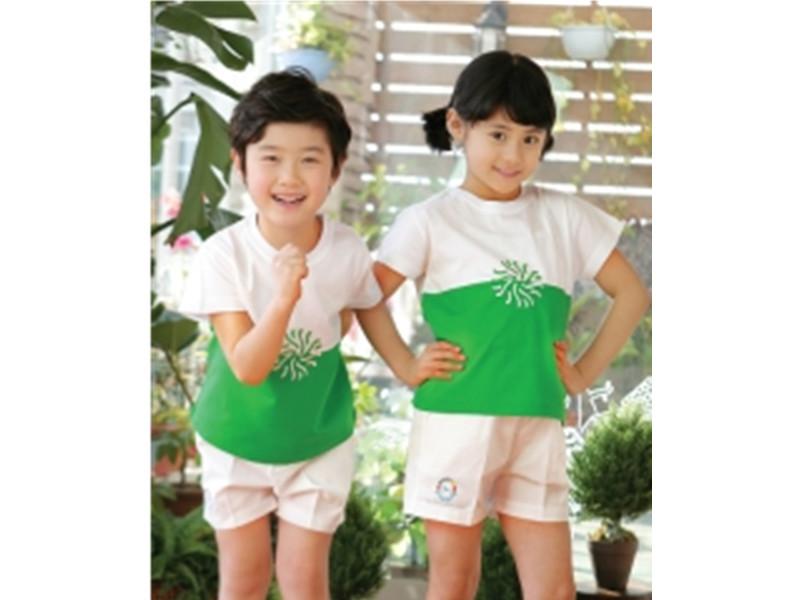价格适中的幼儿园夏装校服批发