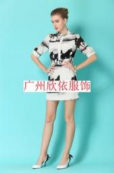 14广州时尚夏装女装批发