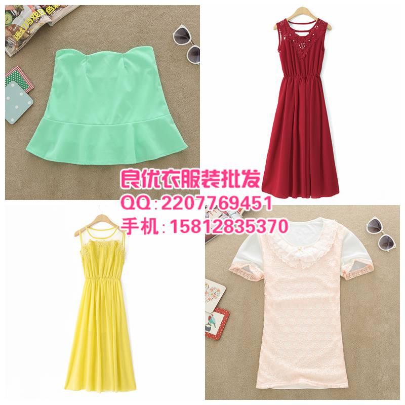 上海夏季女装长裙批发