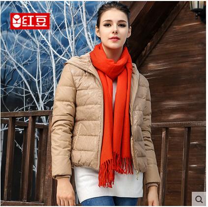 河南香玲服装红豆羽绒服批发