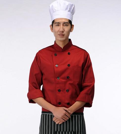 新式的酒店厨师服定做批发