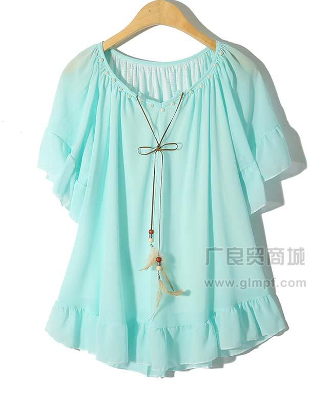上海时尚新款女装批发上海女装批发市场货源供应