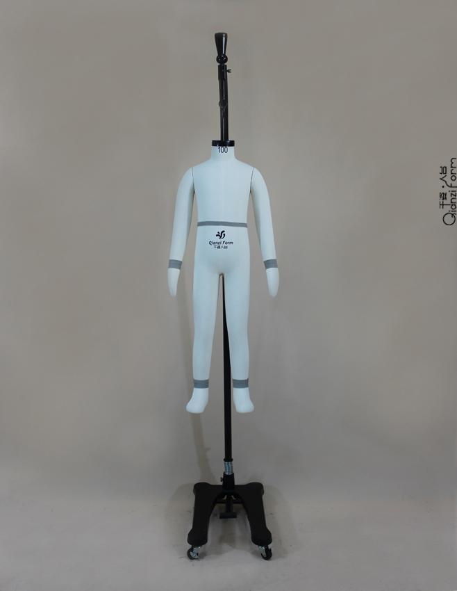 童装100公分试衣打板人台、童装100cm板房模特供应