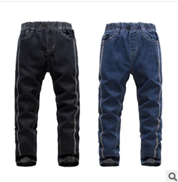 概能童装贸易公司新款儿童牛仔长裤供应