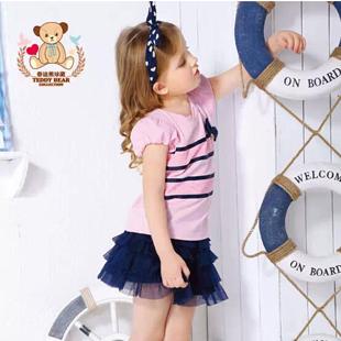 泰迪熊童装献给孩子精彩缤纷的童趣生活