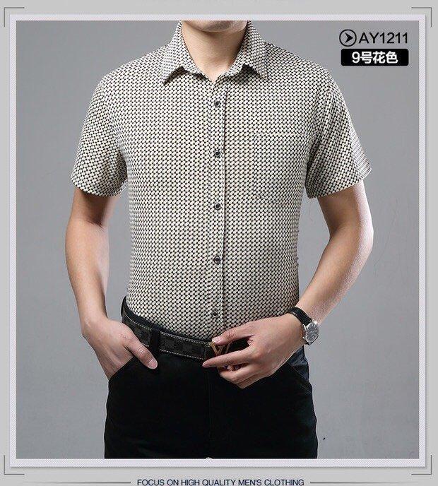 韩版修身印花男装短袖t恤批发