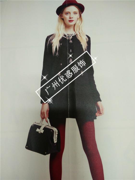 欧时力风格BR韩版时尚秋装新款品牌女装折扣批发