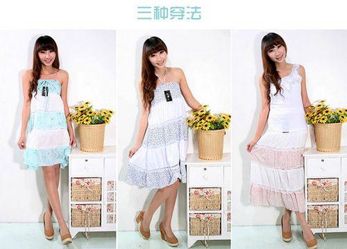 女装韩版吊带裙批发