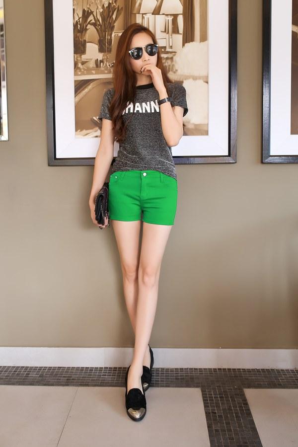时尚碎花短裤批发