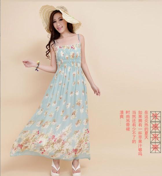 广州十三行时尚西米亚裙最便宜批发