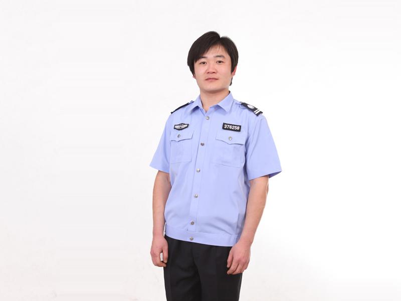潍坊地区专业制造夏款保安服定做