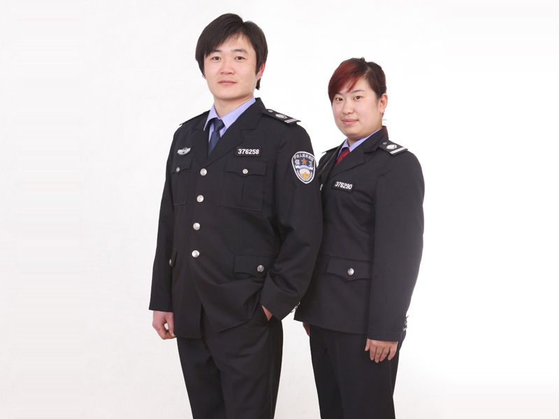 潍坊地区优质春秋常服保安服批发