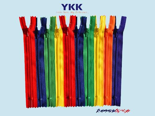 超低价的YKK尼龙拉链批发