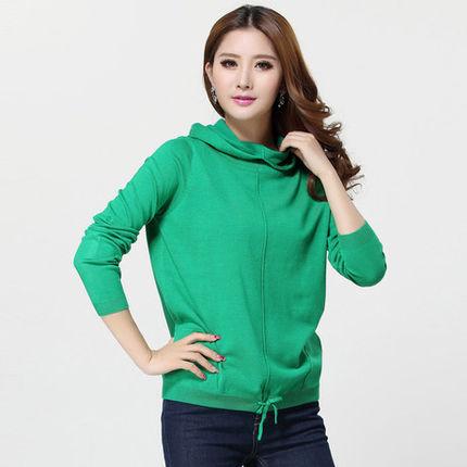 专业的时尚韩版女装针织衫批发