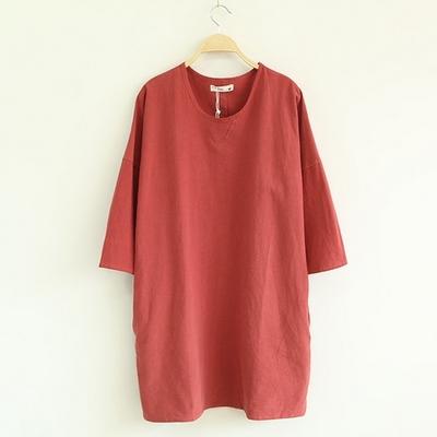 韩版连衣裙T恤一手货源直销