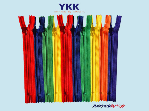 最优质的YKK尼龙拉链批发