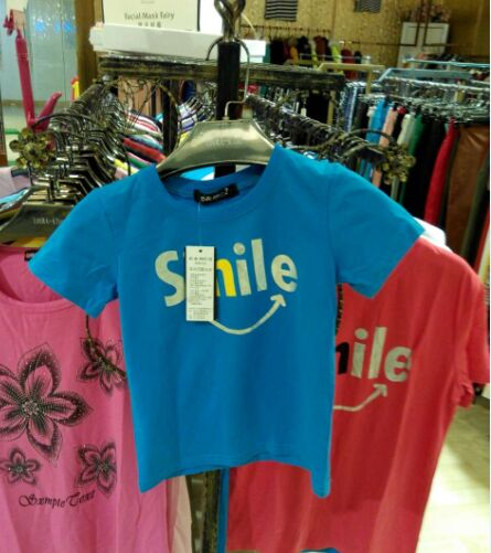 夏季新款韩版童装T恤一手货源厂家直销