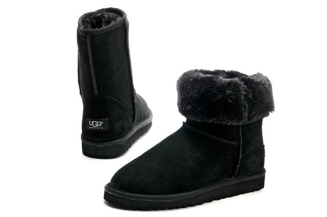 高品质的UGG5800男款时尚保暖雪地靴批发