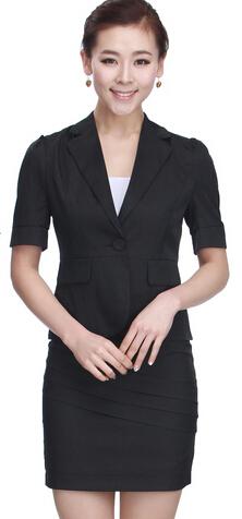 2015女式职业装款式定制