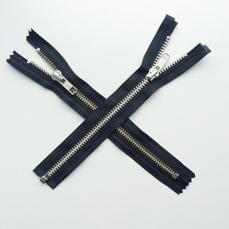 专业生产YKK金属拉链批发