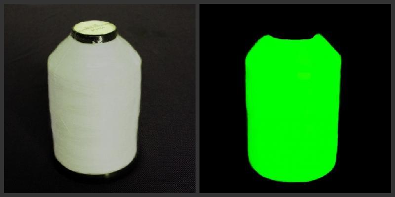 环保夜光材料缝纫线批发