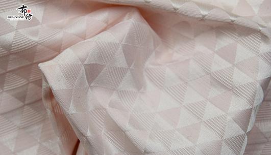 武汉女装几何提花面料F05627 布衣纺批发