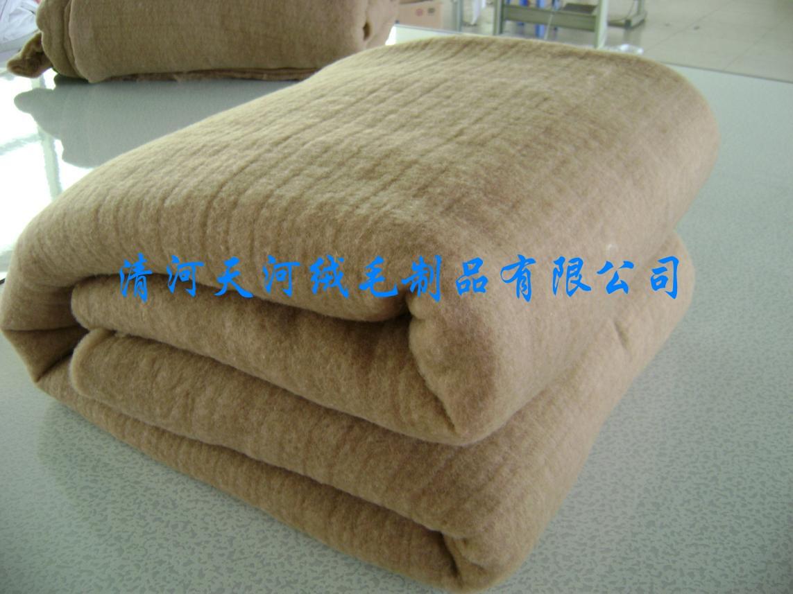 广东驼绒被批发
