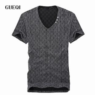 2015爆款夏季男式短袖T恤批发