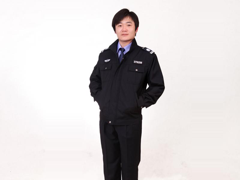 潍坊地区最好的春秋执勤服定做批发