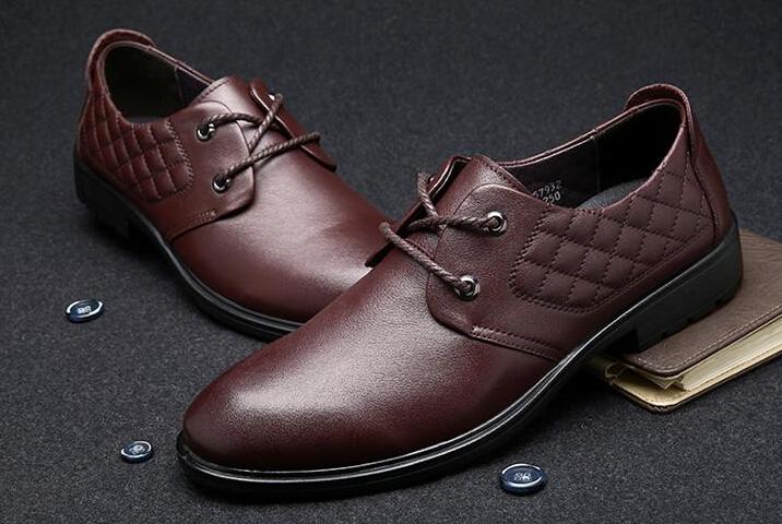 低价头皮正品定制品牌皮鞋批发