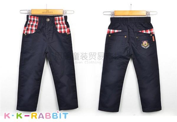 儿童休闲长裤加工批发