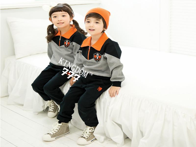 实惠的韩版风格幼儿园园服定做