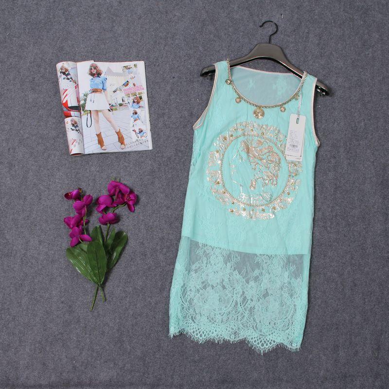 深圳曼依库房大量品牌折扣夏季女装低价批发