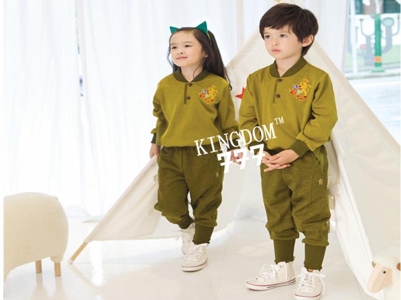 宁波最优惠的韩版风格幼儿园园服批发