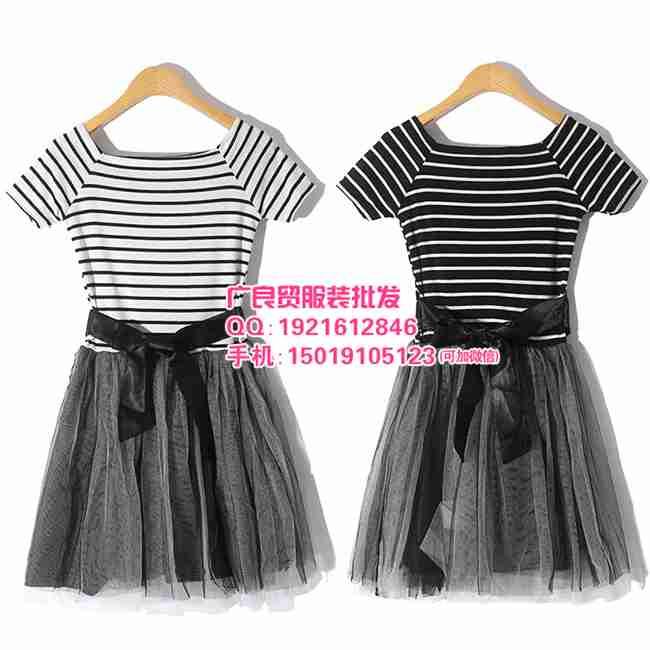 夏季时尚女装连衣裙货源厂家直销