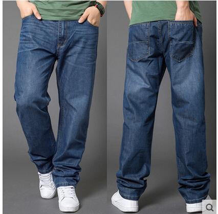 大码时尚商务牛仔裤批发厂家一手货源