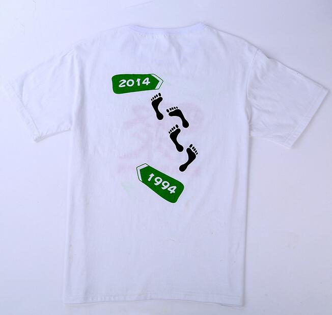成都夏季短袖圆领T恤定制